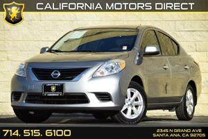 2014 Nissan Versa SV Carfax 1-Owner Air Conditioning  AC Audio  Auxiliary Audio Input Chrome