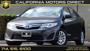 2013 Toyota Camry Hybrid LE Carfax 1-Owner - No AccidentsDamage Reported Air Conditioning  AC