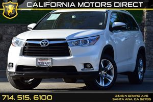 2015 Toyota Highlander Limited Carfax 1-Owner Air Conditioning  Climate Control Audio  Auxilia