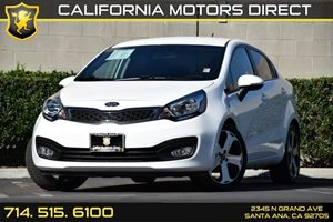 2014 Kia Rio SX Carfax 1-Owner Air Conditioning  AC Audio  Auxiliary Audio Input Cargo Featu