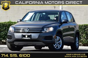2014 Volkswagen Tiguan S Carfax 1-Owner - No AccidentsDamage Reported Audio  Auxiliary Audio In