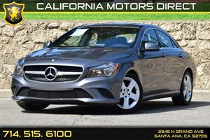 2015 MERCEDES CLA-Class Coupe Carfax 1-Owner Air Conditioning  AC Audio  Auxiliary Audio Inpu