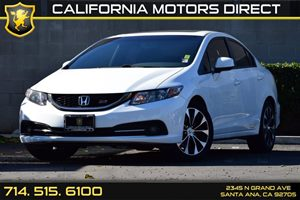 2013 Honda Civic Sdn Si Carfax 1-Owner - No AccidentsDamage Reported Audio  Auxiliary Audio Inp