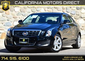 2014 Cadillac ATS Luxury RWD Carfax 1-Owner Audio  Auxiliary Audio Input Convenience  Back-Up