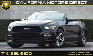 2016 Ford Mustang V6 Carfax 1-Owner - No AccidentsDamage Reported Analog Display Audio  Auxili