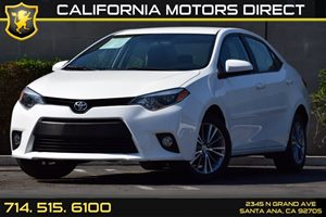 2014 Toyota Corolla LE Plus Carfax 1-Owner - No AccidentsDamage Reported Audio  Auxiliary Audio