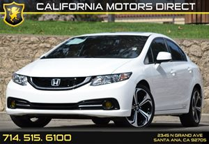 2013 Honda Civic Sdn Si Carfax 1-Owner Audio  Auxiliary Audio Input Convenience  Back-Up Camer