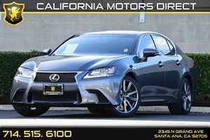 2014 Lexus GS 350 F Sport Carfax 1-Owner - No AccidentsDamage Reported Audio  Auxiliary Audio I