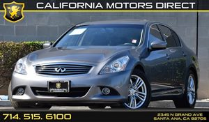 2013 Infiniti G37 Sedan Journey Carfax Report - No AccidentsDamage Reported Air Conditioning  A