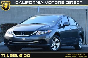 2013 Honda Civic Sdn LX Carfax 1-Owner - No AccidentsDamage Reported Audio  Auxiliary Audio Inp