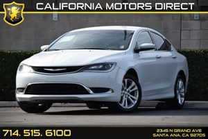 2015 Chrysler 200 Limited Carfax Report Analog Display Audio  Auxiliary Audio Input Convenienc