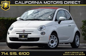 2014 FIAT 500c Pop Convertible Carfax 1-Owner - No AccidentsDamage Reported Air Conditioning  A