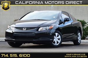 2012 Honda Civic Cpe LX Carfax 1-Owner - No AccidentsDamage Reported Convenience  Intermittent