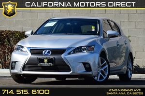 2015 Lexus CT 200h Hybrid Carfax Report - No AccidentsDamage Reported Audio  Auxiliary Audio In