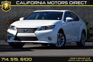 2014 Lexus ES 300h Hybrid Carfax 1-Owner - No AccidentsDamage Reported Clearcoat Paint Convenie
