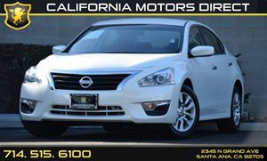 2015 Nissan Altima 25 S Carfax 1-Owner Audio  Auxiliary Audio Input Clearcoat Paint Convenien