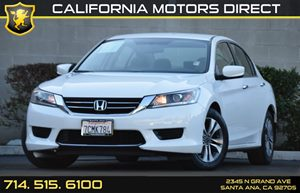 2013 Honda Accord Sdn LX Carfax 1-Owner Audio  Auxiliary Audio Input Convenience  Back-Up Came