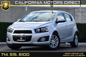 2013 Chevrolet Sonic LT Carfax 1-Owner Air Conditioning  AC Audio  Auxiliary Audio Input Con