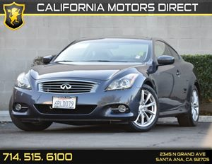 2011 Infiniti G37 Coupe Journey Carfax Report - No AccidentsDamage Reported Audio  Auxiliary Au