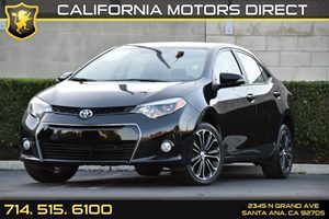 2016 Toyota Corolla S Plus Carfax 1-Owner Analog Display Audio  Auxiliary Audio Input Convenie