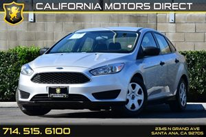 2015 Ford Focus S Carfax 1-Owner - No AccidentsDamage Reported Audio  Auxiliary Audio Input Cl