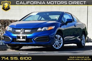 2014 Honda Civic Coupe LX Carfax 1-Owner Audio  Auxiliary Audio Input Clearcoat Paint Convenie