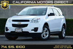 2014 Chevrolet Equinox LS Carfax 1-Owner Air Conditioning  AC Audio  Auxiliary Audio Input C