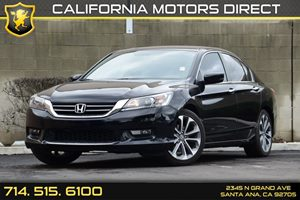 2015 Honda Accord Sedan Sport Carfax 1-Owner - No AccidentsDamage Reported Audio  Auxiliary Aud