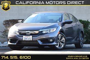 2016 Honda Civic Sedan EX-T Carfax 1-Owner - No AccidentsDamage Reported Audio  Auxiliary Audio