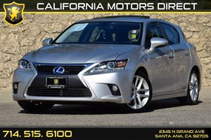 2015 Lexus CT 200h Hybrid Carfax 1-Owner Audio  Auxiliary Audio Input Convenience  Keyless Sta