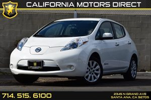 2013 Nissan LEAF S Carfax 1-Owner Audio  Auxiliary Audio Input Convenience  Heated Steering Wh