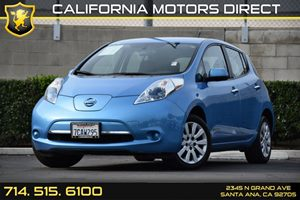 2013 Nissan LEAF S Carfax 1-Owner Air Conditioning  AC Audio  Auxiliary Audio Input Convenie