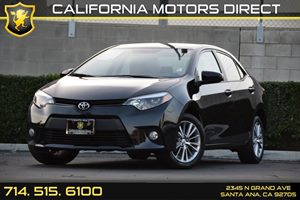 2014 Toyota Corolla LE Carfax 1-Owner Air Conditioning  AC Audio  Auxiliary Audio Input Clea