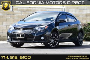 2016 Toyota Corolla S Carfax 1-Owner - No AccidentsDamage Reported Air Conditioning  AC Audio