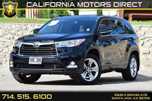 2015 Toyota Highlander Limited Carfax 1-Owner Audio  Auxiliary Audio Input Audio  Premium Soun