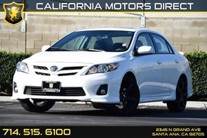 2012 Toyota Corolla S Carfax 1-Owner - No AccidentsDamage Reported Air Conditioning  AC Audio