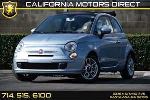2013 FIAT 500 Pop Carfax 1-Owner - No AccidentsDamage Reported Air Conditioning  AC Audio  A