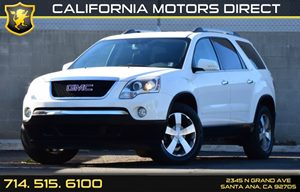 2012 GMC Acadia SLT1 Carfax 1-Owner - No AccidentsDamage Reported Convenience  Back-Up Camera