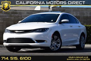 2015 Chrysler 200 Limited Carfax 1-Owner - No AccidentsDamage Reported Air Conditioning  AC A