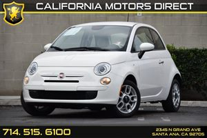 2015 FIAT 500 Pop Carfax Report - No AccidentsDamage Reported Audio  Auxiliary Audio Input Chr