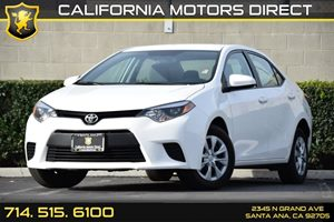 2014 Toyota Corolla L Carfax 1-Owner - No AccidentsDamage Reported Air Conditioning  AC Audio