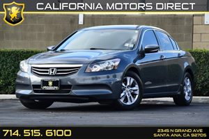 2012 Honda Accord Sdn SE Carfax Report - No AccidentsDamage Reported Audio  Auxiliary Audio Inp