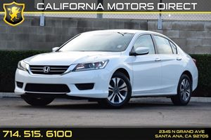 2014 Honda Accord Sedan LX Carfax 1-Owner - No AccidentsDamage Reported Audio  Auxiliary Audio