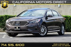 2015 Hyundai Sonata 24L Limited Carfax 1-Owner - No AccidentsDamage Reported Audio  Auxiliary