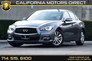 2014 Infiniti Q50 Premium Carfax 1-Owner - No AccidentsDamage Reported Air Conditioning  AC A