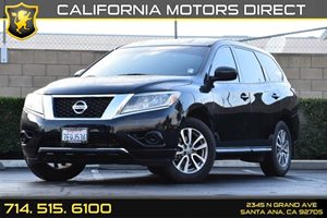 2014 Nissan Pathfinder S Carfax 1-Owner Audio  Auxiliary Audio Input Black Side Windows Trim An
