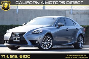 2015 Lexus IS 250  Carfax 1-Owner Audio  Auxiliary Audio Input Clearcoat Paint Convenience  E