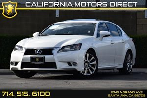 2014 Lexus GS 350  Carfax 1-Owner - No AccidentsDamage Reported Air Conditioning  AC Analog D