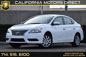 2015 Nissan Sentra SV Carfax 1-Owner Audio  Auxiliary Audio Input Compact Spare Tire Mounted In