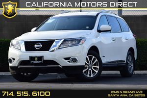 2014 Nissan Pathfinder SL Hybrid Carfax 1-Owner - No AccidentsDamage Reported Audio  Auxiliary